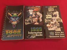 1998-2018 MLB Tampa Bay Devil Rays media guide / You pick 'em / Boggs / McGriff