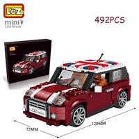 LOZ Building Blocks Kids Model Kits Car Toys Gifts Collecting Kids DIY 492PCS