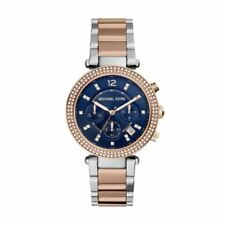 Relojes de pulsera 24 horas de acero inoxidable cronógrafo