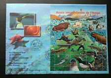 United Nation International Year Of Ocean 1998 Marine Fish Penguin Polar (FDC)