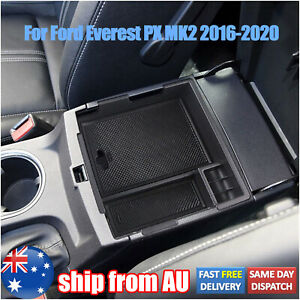 For Ford Everest 2016-2020 Armrest Storage Box Center Console Glove Tray Case