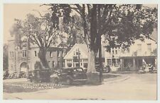 VTG Photo Town Hall & Post Office Watertown Conn circa 1930s/40's Classic Cars