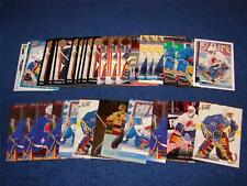 JOCELYN THIBAULT QUEBEC NORDIQUES 39 ROOKIE CARDS AND ROOKIE YEAR INSERTS