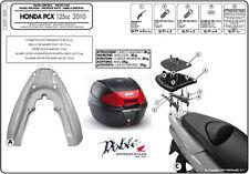 Nueva Marca Givi Top Box & Kit De Montaje Para Honda PCX 125 pcx125 Ww 125 En Negro