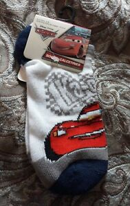 Disney Pixar Cars Boys Socks Size 6-8, Shoe Size 10.5 - 4