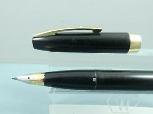 Vintage Sheaffer Imperial III Black Touchdown Fountain Pen,GT,c1960 *Needs a Sac