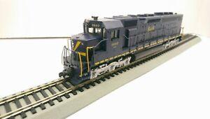 Athearn HO Train Custom LED Baltimore & Ohio EMD SDP40 Powered Diesel Locomotive