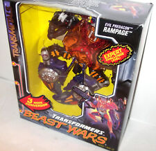 Beast Wars Transmetals  RAMPAGE *Case Fresh Mostly SHARP SEALED - discounted A