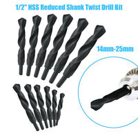1/2 inch REDUCED SHANK DRILLS HSS TWIST DRILL BITS - ALL METRIC SIZES 14mm-25mm