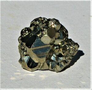 Natural Pyrite Cube Cluster From Peru (P85)