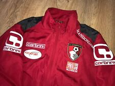 Bournemouth rare Carbrini training tracksuit track top jacket size S