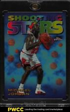 1998 Topps Chrome Shooting Stars Refractor Michael Jordan #6