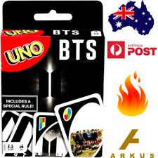 UNO BTS K-Pop Music Dance CARD GAME Special Ed. KPOP Korea Mattel NEW  7+ Years