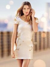 Portmans Gold Sequin Gemini Dress Size 6 $199 New With Tags