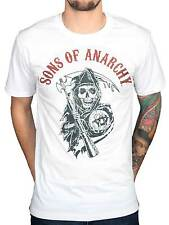 Official Sons Of Anarchy Reaper Flag Colours T-Shirt MC Motor Cycle Club Teller