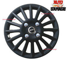 Hotwheelz Wheel Cover 12inch for Maruti Suzuki Alto-Matte Black-Set of 4pcs