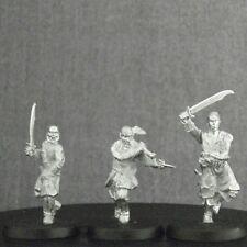 Games Workshop LOTR 3 Corsair Marauders metal rare (Unreleased miniatures)