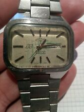 Vintage watch ROTARY F1 automatic AS 2066 big needs repair for parts repair read