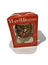 1990 Happy Holidays Disney Christmas Tree Ornament