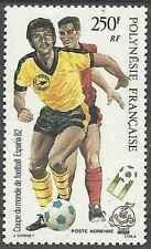 Timbre Sports Football Polynésie PA168 ** lot 961