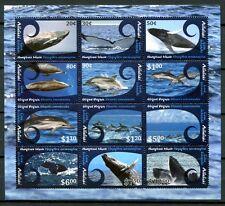 Aitutaki 2012 Wale Whales Delphine Dolphins 848-859 Bogen Postfrisch MNH