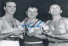 FYODOR BOGDANOVSKY (†) *URS*  > 1. Olympics 1956 / WLT - sign. Foto