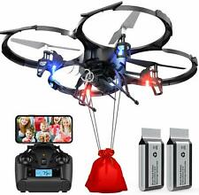 DBPOWER Drone U818A FPV Drones with 720P WI-FI Camera RC...