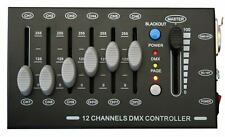 E-Lektron C-12 mini DMX Controller 12-Kanal Licht Steuerpult Lichtsteuerung NEU