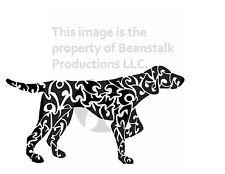 Pointer Lab Dog Notecards, Animal Series, Set of 8 w/ Envelopes  Mix & Match