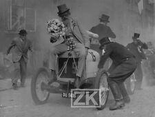 DEDECEK AUTOMOBIL Vintage Car Course Film Race Voiture Burlesque RADOK Photo '57
