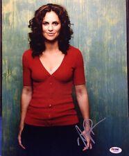 Amy Brenneman Signed 11x14 photo PSA/DNA Cert# Z83824