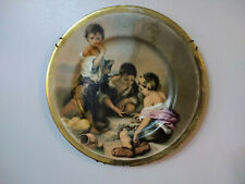 Ceramic Wall Hanging Medieval Style Decorative Plate Wall Decor