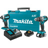 Makita XT269R 18V LXT® Li‑Ion Brushless Cordless 2‑Pc. Combo Kit, 2.0Ah, (Recon)