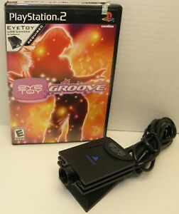Sony Playstation 2 Eye Toy Groove game with Camera Tested / working SCUS-97400