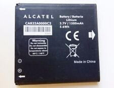 GENUINE ALCATEL CAB32A0000C2 BATTERY FOR ALCATEL ONE OUCH OT-991D  | 1500mAh