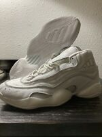Adidas 98 X CRAZY BYW Boost Pack Men's 12 Basketball Shoes Triple White G28390