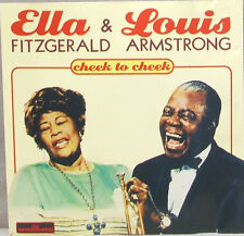 Ella Fitzgerald & Louis Armstrong	Cheek To Cheek	CD	The Entertainers ‎– CD 0215