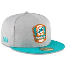 Miami Dolphins Cap Sideline Road NFL Football New Era 59fifty 7 5/8