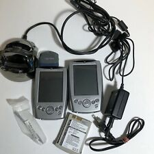 2 Dell Axim X5 Pocket Pc Pda w/ 2 chargers Socket Scanner Battery Pk for Parts