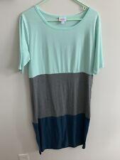 Lularoe dress Size XL Color Block