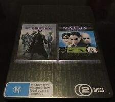 The Matrix & Matrix Revisited DVD Collection  (Limited Collection Metal Case).