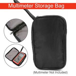 Universal Multimeter Storage Bag Zipper Pouch Case for Digital Meter sa