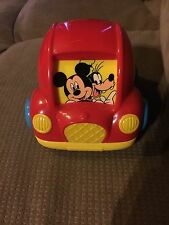 Mickey Mouse & Friends Disney Plastic Toddler Baby Roller Car Toy Rattle Pretend