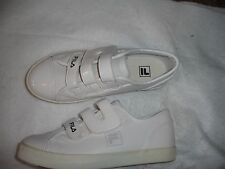 Fila New Girl Kid Size 2.5 2 1/2 White Casual Shoes Athletic Shoe New
