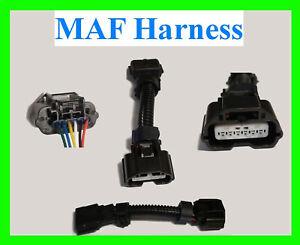 "MAF Mass Air Flow Connector Fits Nissan Infiniti VQ35 5"" Harness 370z Pigtail"