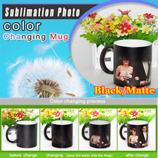 36pcs 11oz Blank Mug 3d Sublimation Color Changing Mug Magic Cup Blackmatte Usa