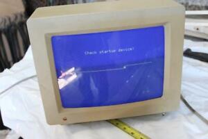 vintage Apple  color RGB Monitor A2M6014, 839