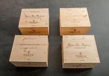 """Set aus 4 Original 6er Weinkisten Holzkisten /""""Toskana I/"""" ohne Flaschen"""