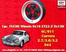 1 cerchio Porsche 911 2.7 3.0 3.2 SC turbo Felge 8x16 ET 23.3 TÜV wheel jante