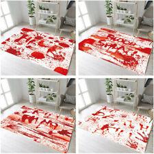 Horror Halloween Blood Letters Floor Mat Bedroom Carpet Living Room Area Rugs